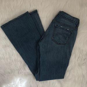 Express Boot Cut Jeans {A}
